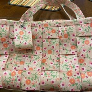 Floral Harvey's Satchel Purse